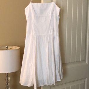 White lace dress